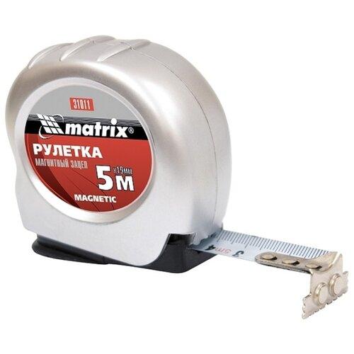 Измерительная рулетка matrix 31011 19 мм x 5 м рулетка matrix 31034 5мx19мм