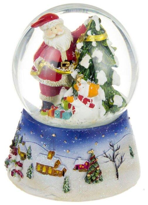 Снежный шар Lefard, 11*11*14,5 см, с музыкой, елочка 175-110