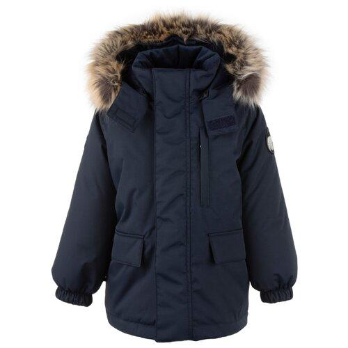 Купить Парка KERRY Snow K20441 размер 134, 229 темно-синий, Куртки и пуховики
