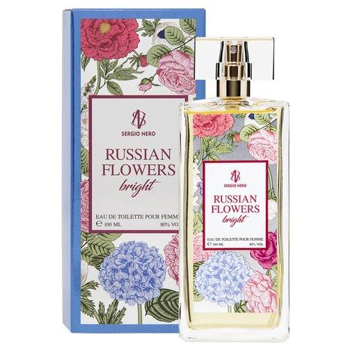 Туалетная вода Sergio Nero Russian Flowers Bright, 100 мл