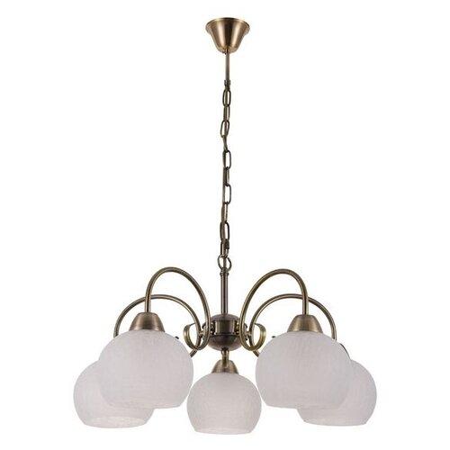 Люстра Arte Lamp Margo A9317LM-5AB, E27, 300 Вт люстра arte lamp barbara a6066pl 5ab e27 300 вт