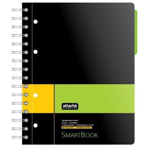 Купить Attache SELECTION Бизнес-тетрадь Smart Book А5, линейка, 120 л., Тетради