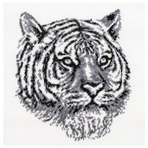 Купить Набор Тигр вышивка крестом 20, 5х23 Белоснежка 187-14, Наборы для вышивания