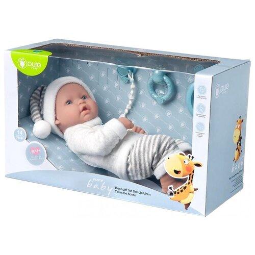 Пупс Junfa toys Pure Baby, 35 см, WJ-B9973 пупс junfa toys baby so lovely 1911 3