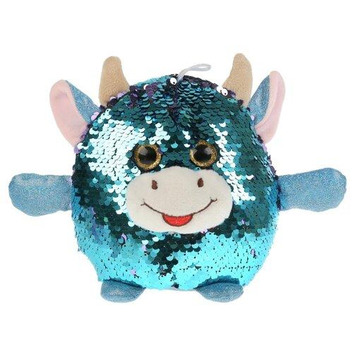 Купить Игрушка мягкая Корова из пайеток 17см, ТМ Мульти-Пульти, Мягкие игрушки