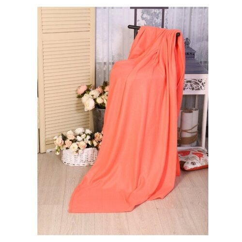 Плед Текстильная лавка 150х200 см 130 г/кв.м, пурпур скатерть текстильная лавка текстильная лавка mp002xu02k9s