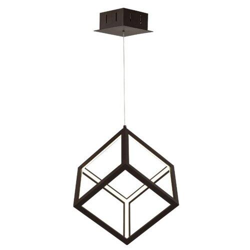 Люстра светодиодная Favourite Cubus 2052-1, LED, 35 Вт люстра максисвет геометрия 1 1696 6 cr y led