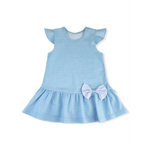 Платье LEO размер 74, голубой