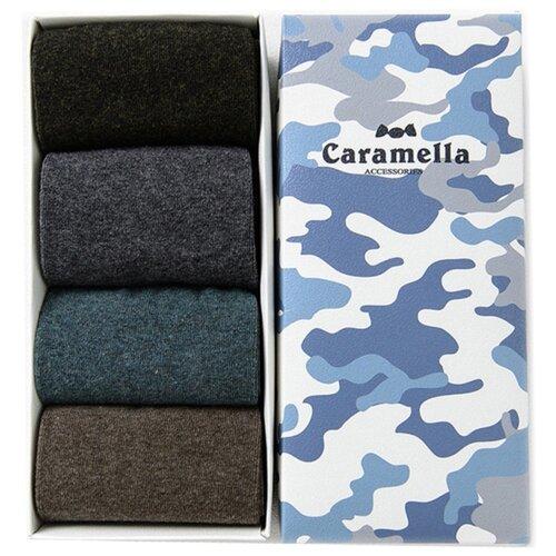 Носки Caramella Камуфляж-3 C5325411004, 4 пары, размер 23-27, разноцветный
