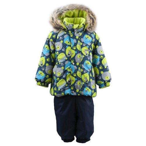 Купить Комплект с полукомбинезоном KERRY Zoomy K19415 1049 размер 98, 1049, Комплекты верхней одежды