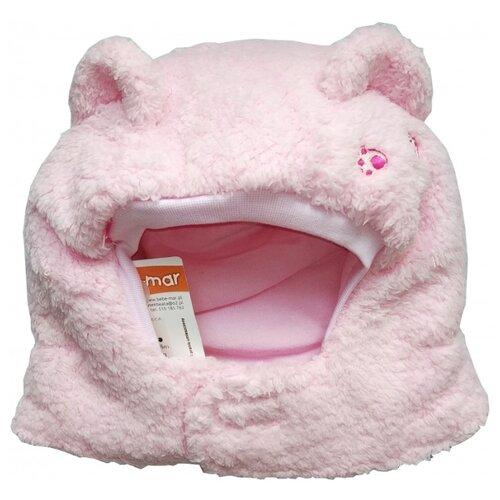 Купить Шапка-шлем BeBe-Mar размер 48-50, розовый, Головные уборы
