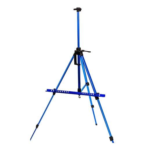Купить Мольберт Малевичъ тренога МЛ-03 (159003) синий, Доски и мольберты