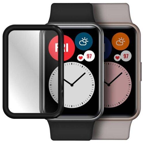 Гибридное стекло Mobius для смарт-часов Huawei Honor Watch ES/FIT 3D Full Cover