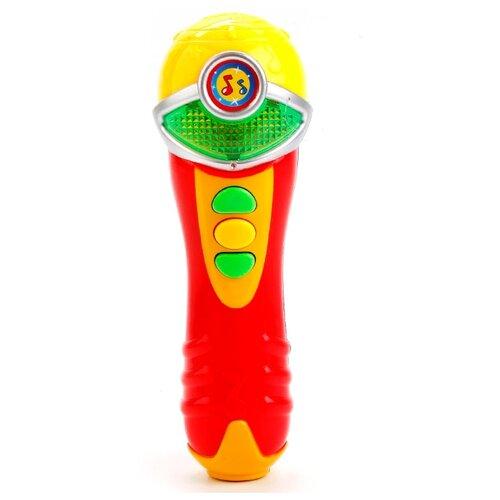 Купить Умка микрофон WS112CS-2 красный, Детские музыкальные инструменты