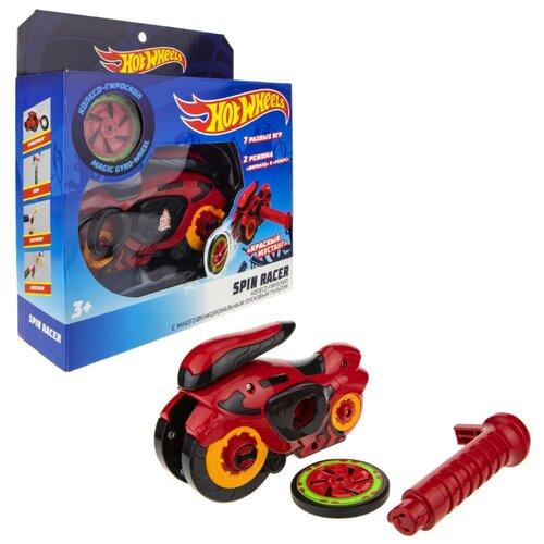 Купить Колесо-гироскоп Hot Wheels Spin Racer Красный Мустанг (Т19372) красный, Машинки и техника