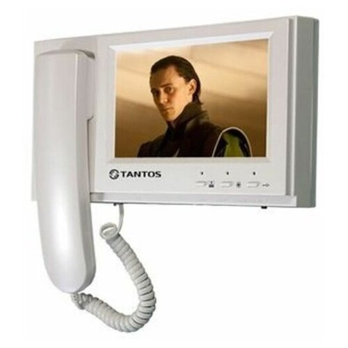 Домофон (переговорное устройство) TANTOS Loki SD белый (домофон) домофон переговорное устройство tantos lilu sd белый домофон
