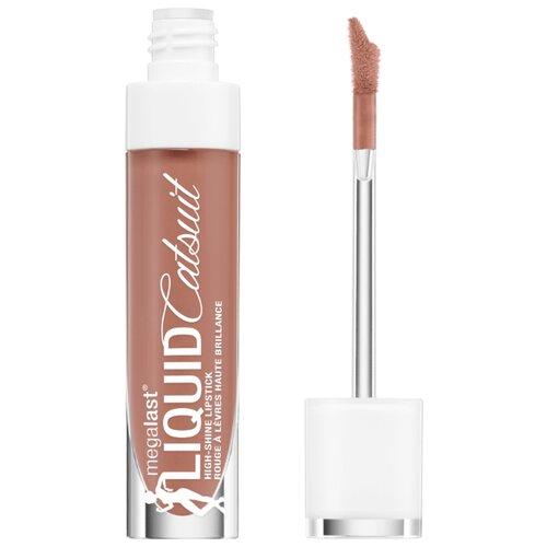 Wet n Wild Жидкая помада для губ MegaLast Liquid Catsuit Hi-Shine Lipstick, оттенок chic got real