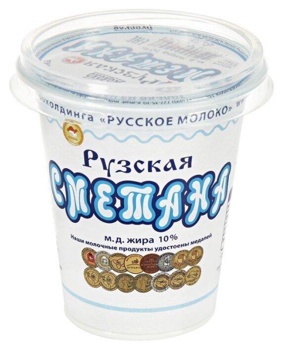 Рузское Молоко Сметана 10%