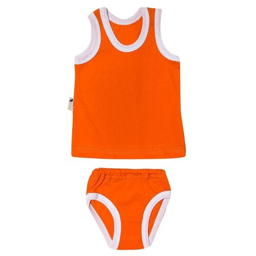 Фото - Комплект одежды Клякса размер 24, оранжевый комплект одежды клякса размер 86 желтый