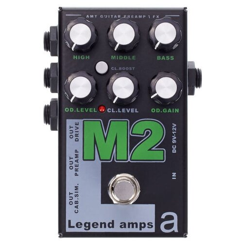 AMT Electronics Предусилитель M2 Legend Amps 2 1 шт.