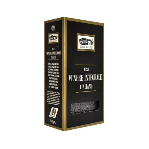 Рис Casa Rinaldi Венере Venere Integrale длиннозерный, 500 г рис casa rinaldi карнароли длиннозёрный полуобрушенный 500 г