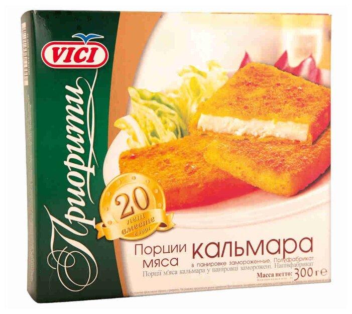 Vici Кальмара мясо в панировке 300 г