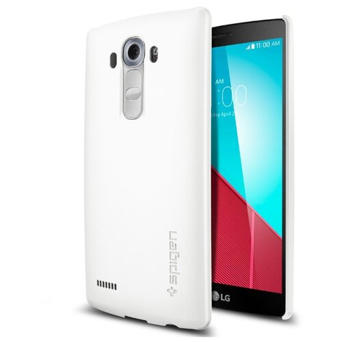 Чехол-накладка SPIGEN для LG G4 - Thin Fit - Белый - SGP11514