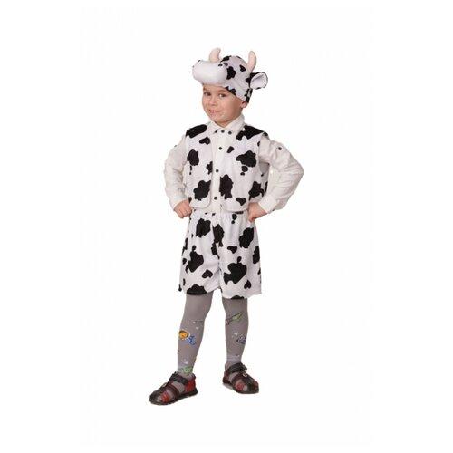 Костюм Батик Бычок Пёстрый черно-белый (21-1), белый/черный, размер 110, Карнавальные костюмы  - купить со скидкой