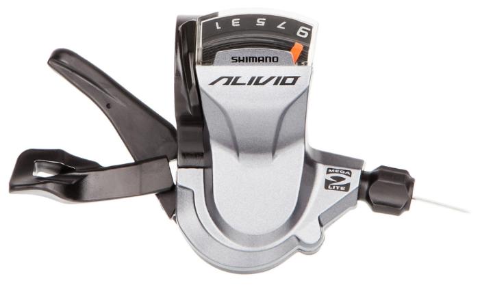 Велозапчасти Переключатель задний Shimano Alivio RD-M4000-SGS, 9 скоростей, черный