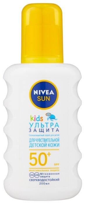 Nivea Sun детский солнцезащитный спрей Ультра защита SPF 50