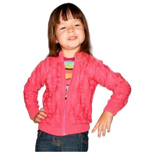 Купить Жакет Golden Kid s Art размер 86-92, темно-розовый, Golden Kid`s Art, Джемперы и толстовки