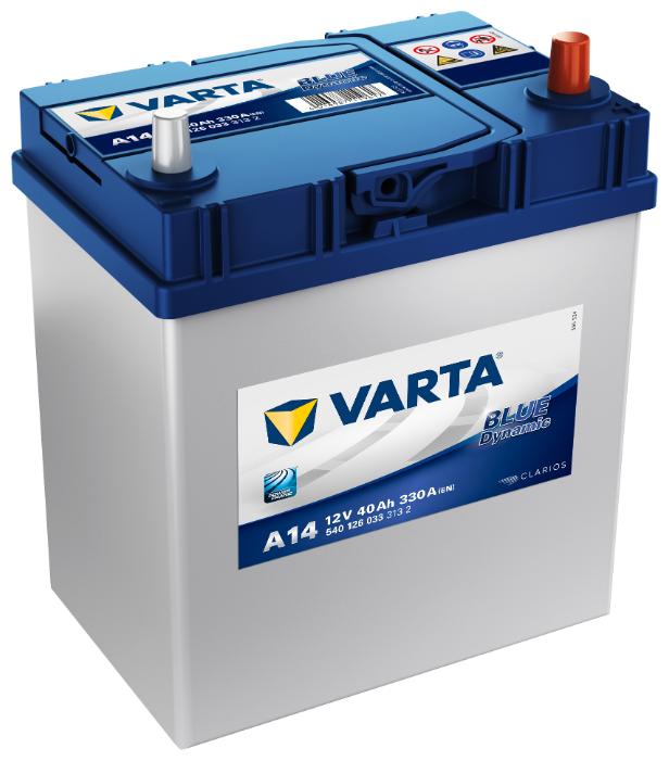Автомобильный аккумулятор VARTA Blue Dynamic A14 (540 126 033)