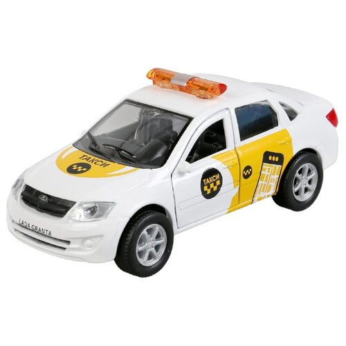 Купить Машина Lada Granta Такси 12см, Технопарк, ТЕХНОПАРК, Машинки и техника