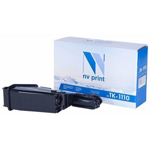 Фото - Картридж NV Print TK-1110 для Kyocera, совместимый картридж nv print tk 1110 для kyocera fs 1040 1020mfp 1120mfp черный 2500стр