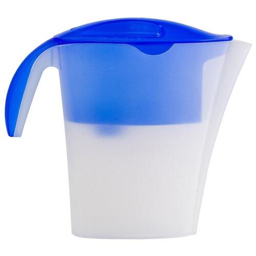 Кувшин для очистки водки/самогона Гейзер Макарыч (62055) белый/синий
