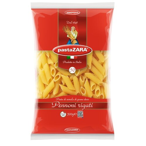 Pasta Zara Макароны 050 Pennoni rigati, 500 г zara larsson zara larsson so good 2 lp