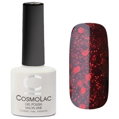 Гель-лак для ногтей CosmoLac Gel Polish, 7.5 мл, оттенок зимняя вишня