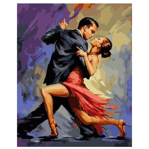 Купить Картина по номерам ВанГогВоМне ZX 23101 Танго 40х50 см, Картины по номерам и контурам