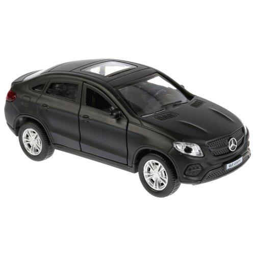 Купить Легковой автомобиль ТЕХНОПАРК Mercedes-Benz Gle Coupe (GLE-COUPE-GY/WT/BE) 12 см черный матовый, Машинки и техника