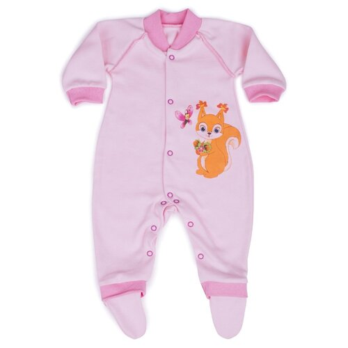 Комбинезон Babyglory размер 80, розовый джемпер для новорожденных babyglory superstar цвет синий ss001 09 размер 80