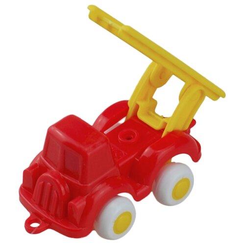 Пожарный автомобиль Viking Toys 02121 7 см красный