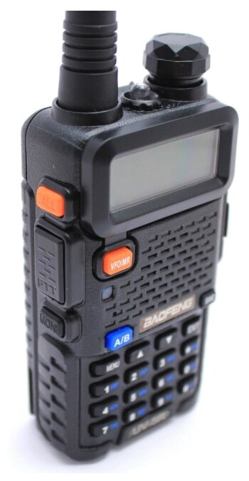 Рация Baofeng UV-5R Tri-Band черный
