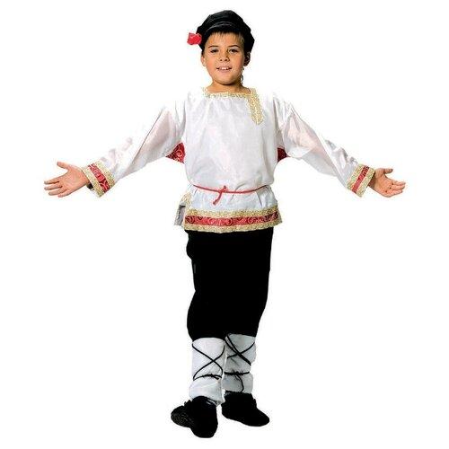 Купить Костюм Вестифика Иванушка (101 015), белый, размер 116-122, Карнавальные костюмы