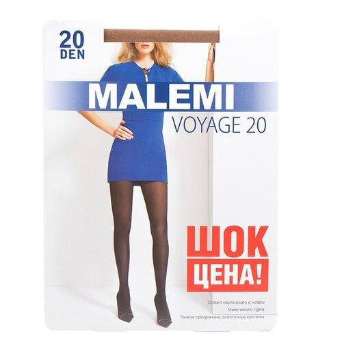 Колготки Malemi Voyage, 20 den, размер II, melon (бежевый) колготки malemi voyage 20 nero