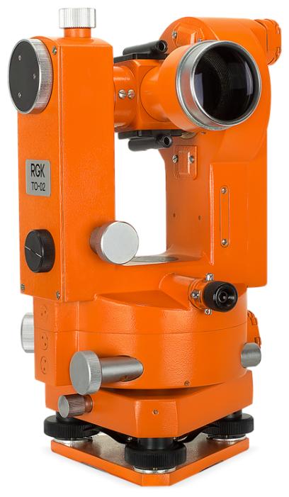 Теодолит оптический RGK TO-02 с поверкой