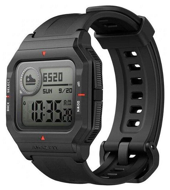 Умные часы Amazfit Neo, черный фото 1