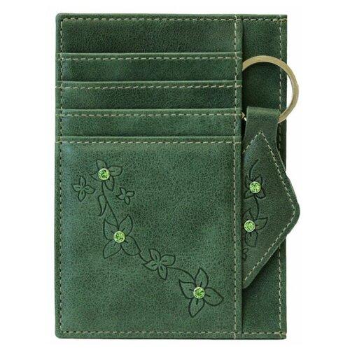 Обложка для автодокументов Kniksen Мэри ОВ-М, зеленый