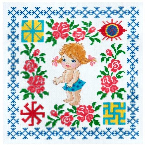Чудесная Игла Набор для вышивания Здоровье доченьки 24 х 24 см (88-02) набор для вышивания крестом чудесная игла утопаю в любви 13 х 12 см