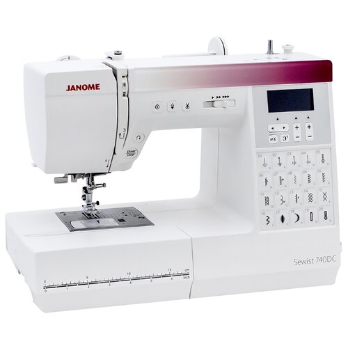 Швейная машина Janome Sewist 740DC, белый