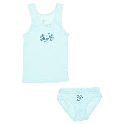 Купить Комплект нижнего белья RuZ Kids размер 128-134, ментол, Белье и купальники